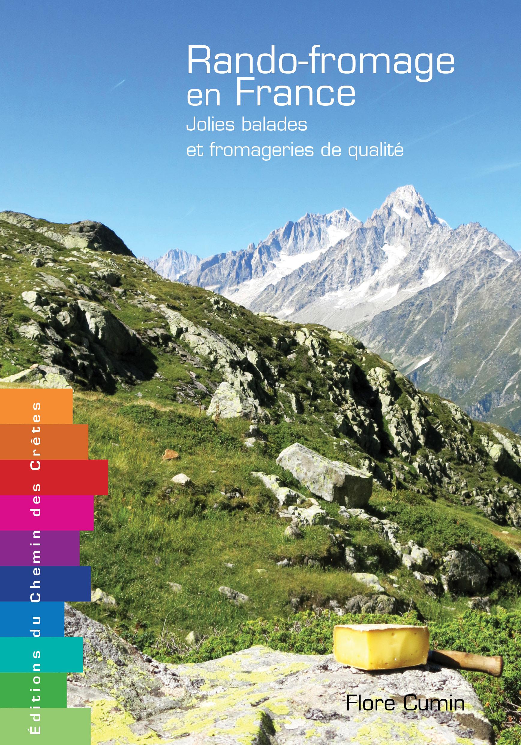 Couverture du livre Rando-fromage en France